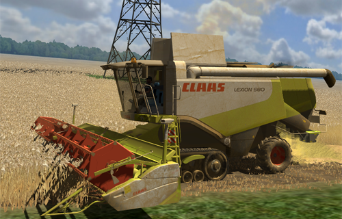 CLAAS Lexion 580TT Pack (Washable & New AP)