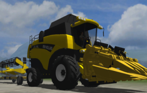 New Holland CX740 Pack – MP ready