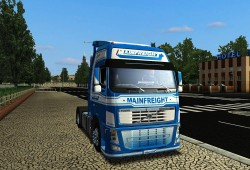 Volvo FH16 580 fixed version for GTS